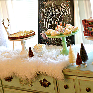 Holiday Parties and Dessert Tables For All