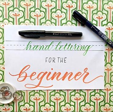 Hand Lettering for the Beginner
