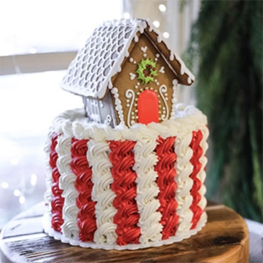 Decadent Gingerbread Houses