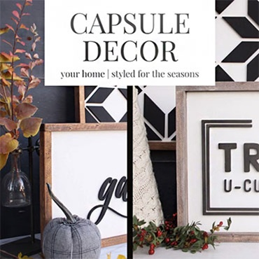 Capsule Decor: Styling Your Home for the Seasons