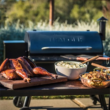 Wood-Fired Thanksgiving with Traeger