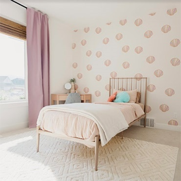 Room Design with Removable Wallpaper