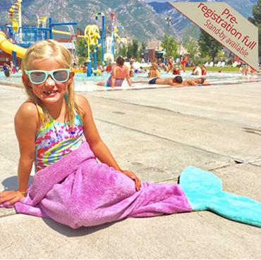 Mermaid Tail Towel Robes (PRE-REGISTRATION FULL)