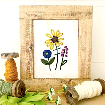 Wildwood Floral Embroidery