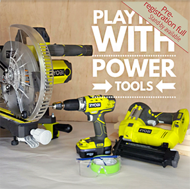 Play Time with Power Tools
