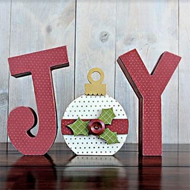 JOY Letter Cutout