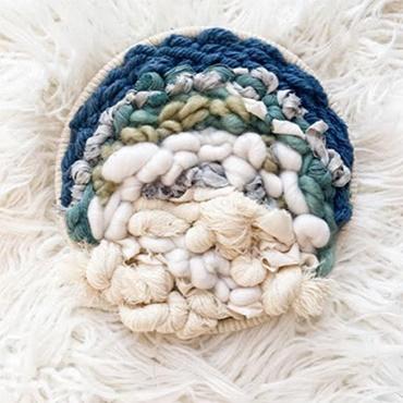 Round Weaving 101 - Blue