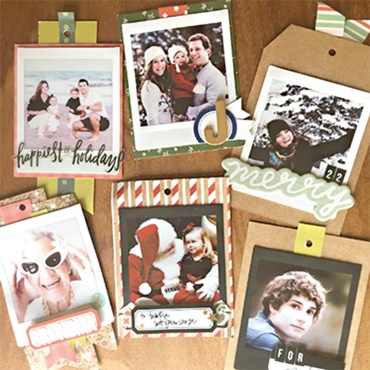instax Photo Gift Tags and Handwriting Skills
