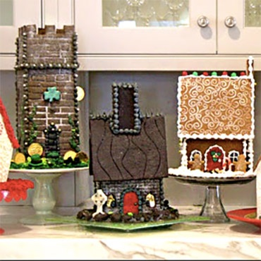 Gingerbread Houses REDEFINED