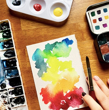 Mindfulness + Watercolor