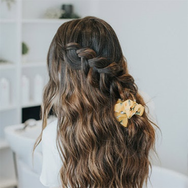 Styling + Healthy Hair