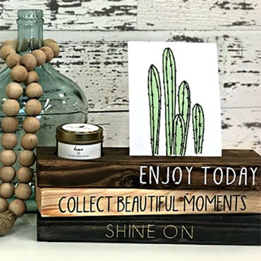 Photo & Candle Stand